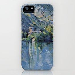 "Paul Cezanne ""The Lac d'Annecy"", 1896 iPhone Case"