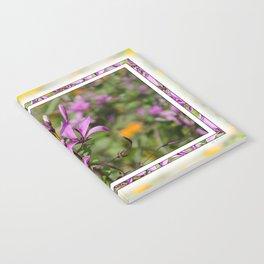 PASTEL PURPLE FLOWER  Notebook