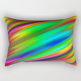 Plutonium Peppermint Rectangular Pillow
