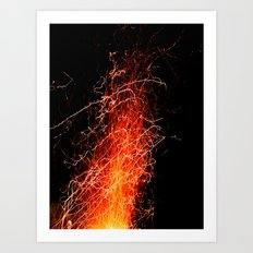 A gift from Prometheus  Art Print