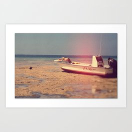 Up and Under Art Print
