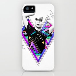 Heart Of Glass - Kris Tate x Ruben Ireland iPhone Case