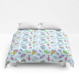 Cute candy and ice-cream pattern Comforters