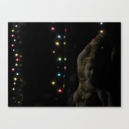 The Light shines in all different colors Canvas Print