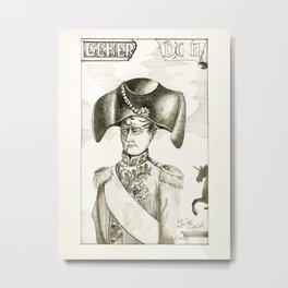 General Doe Metal Print