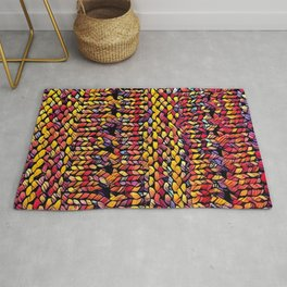 Bright Shawl Rug