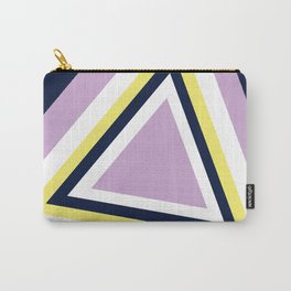 """Geometric Print """"Triangles"""" Carry-All Pouch"""