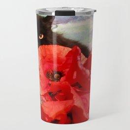 Pomponio Mela loves poppies Travel Mug