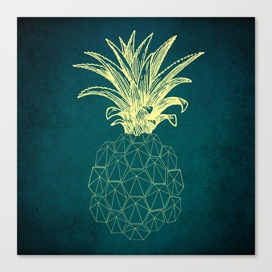 y-hello pineapple Canvas Print
