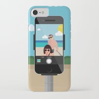 selfie iPhone & iPod Cases featuring Selfie? by Chiara Belmonte