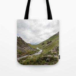 savage river Tote Bag