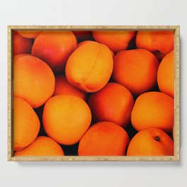 Apricots Serving Tray