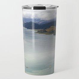 Looking back from Tairua on the Coromandel Peninsula Travel Mug