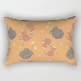 terracotta dreams Rectangular Pillow