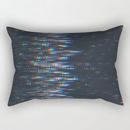 Glitch Art Rectangular Pillow