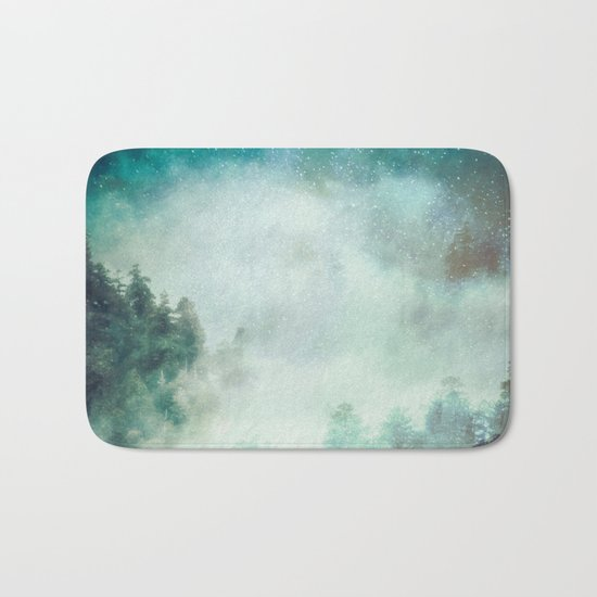 Galaxy Forest Bath Mat