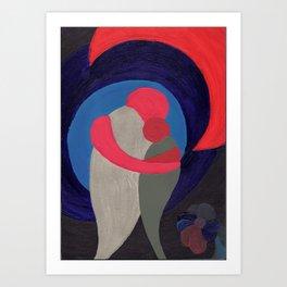 Two in Harmony Art Print