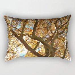 Autumn Canopy Rectangular Pillow
