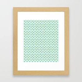 Pineapples 3.0 Framed Art Print