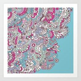 Flower Medley #2 Art Print