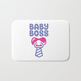 Baby Boss shirt Bath Mat