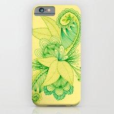 Green Arabesque Slim Case iPhone 6s