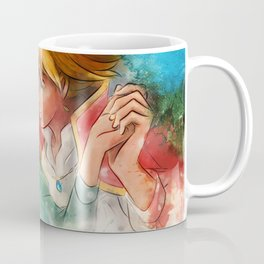 Sophie and Howl from Howl's Moving Castle Tra-Digital Painting Coffee Mug
