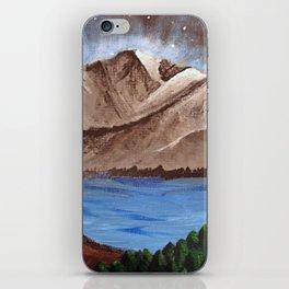 Serene Mountains iPhone Skin