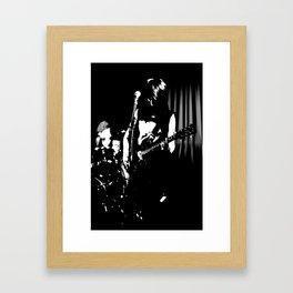 The Guitar. Framed Art Print