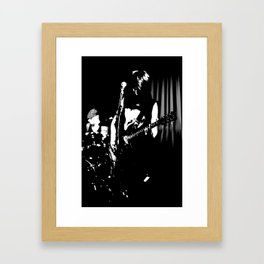 The Guitar. Framed Art Print