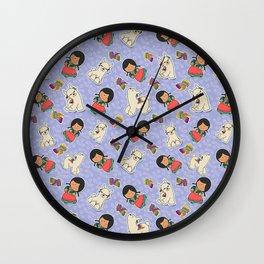 Pasnita & Wichi Wall Clock