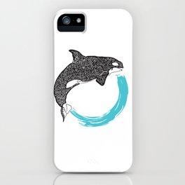 Orca Circle iPhone Case