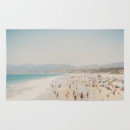 summer time in Santa Monica ... Rug
