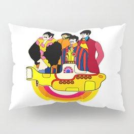 Yellow Submarine - Pop Art Pillow Sham