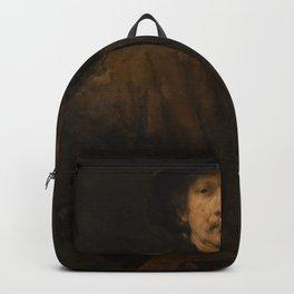 Rembrandt - Large Self-Portrait (1652) Backpack