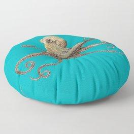Octopus – drawing Floor Pillow
