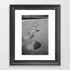 Steps to nowhere Framed Art Print