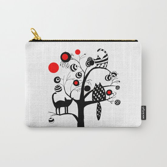 cats and fruits Carry-All Pouch