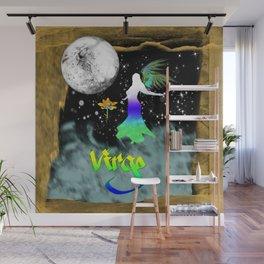 Virgo Birth Sign Wall Mural