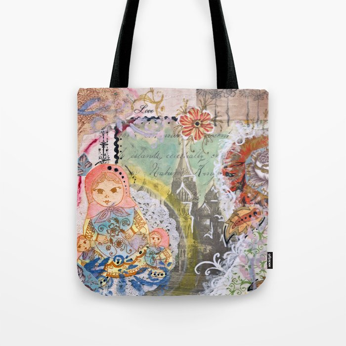 Love From Russia Tote Bag
