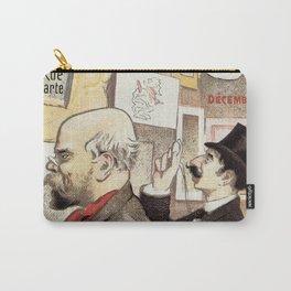 December 1894 7th Salon des 100 Art Expo Paris France Carry-All Pouch
