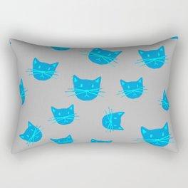 BLUE KITTYS Rectangular Pillow
