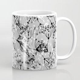 Summer grass , gray ,  black , white Coffee Mug