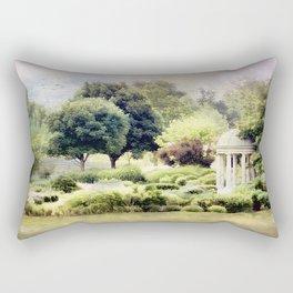 The Flower Garden Rectangular Pillow