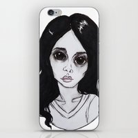 ultraviolence iPhone & iPod Skins featuring ULTRAVIOLENCE by Julio César