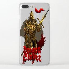 Dragon Slayer Ornstein copy Clear iPhone Case