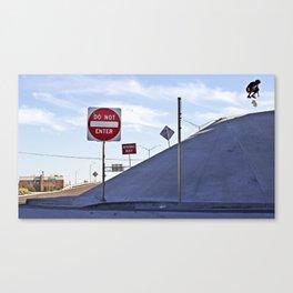 Kickflip In Canvas Print