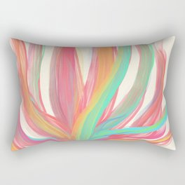 Rainbow Aloe Rectangular Pillow