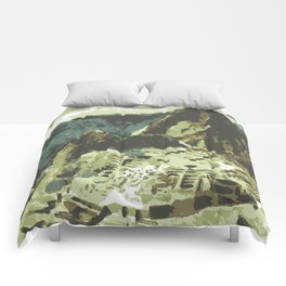 Machu Picchu Peru Comforters