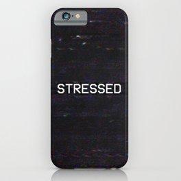 STRESSED iPhone Case